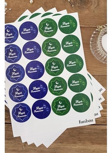 Funbou Sticker, Hayırlı Ramazanlar / 10 Sayfa Renkli